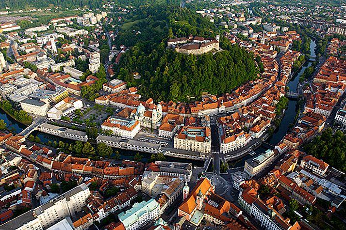 Ljubljana: en liten, men vakker hovedstad