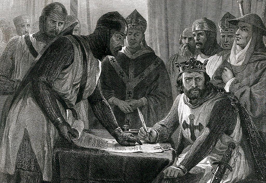 ยักษ์ใหญ่การต่อสู้และ 'Bad King John': Magna Carta อันแท้จริง
