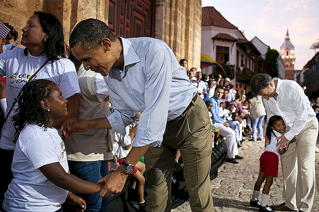 ประธานาธิบดีสหรัฐ Barack Obama สะท้อนถึงเหตุผลที่การเดินทางเป็นระยะทางหลายล้านไมล์ทำให้เขาหวังว่าอนาคตจะดีขึ้น