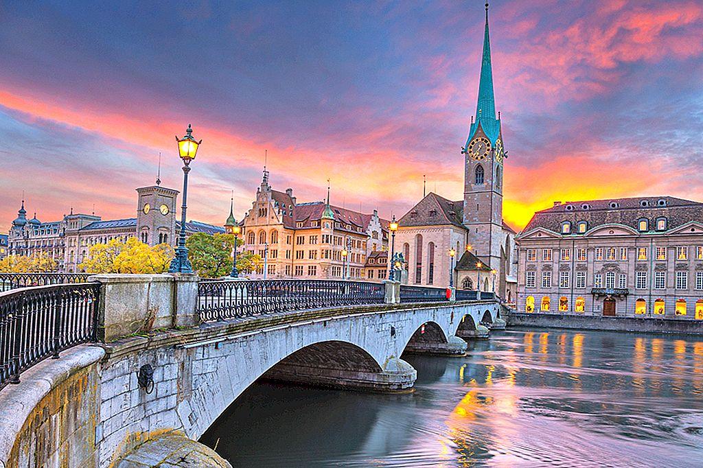 Zürich: mai mult decât finanțe și fondue