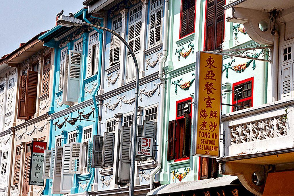 ถนนกินอาหารของสิงคโปร์: อาหารที่ดีที่สุดของถนน Keong Saik