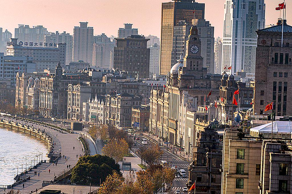 En art deco-reise gjennom Shanghai's belle époque