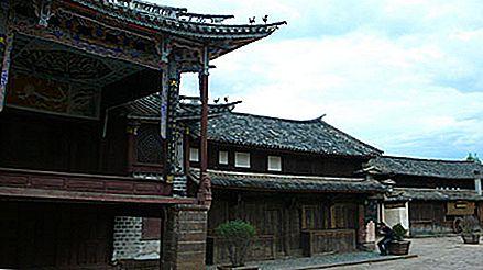 Luând scena în Shaxi