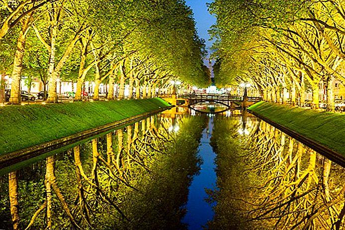 11 самых популярных туристических достопримечательностей в Дюссельдорфе