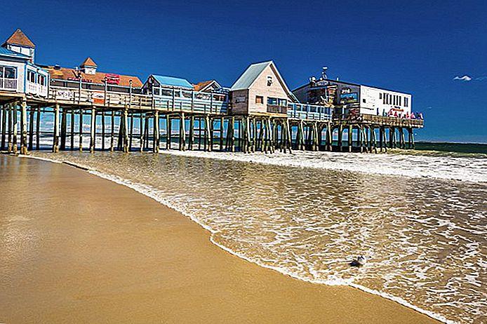7 лучших пляжей вблизи Портленда, штат Мэн