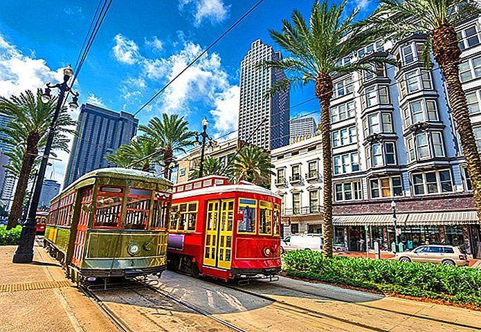 Wo in New Orleans zu bleiben: Beste Gebiete und Hotels
