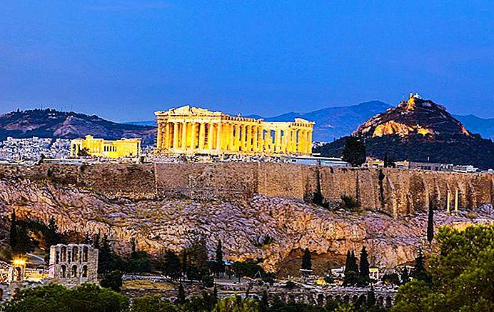 12 самых популярных туристических достопримечательностей в Греции