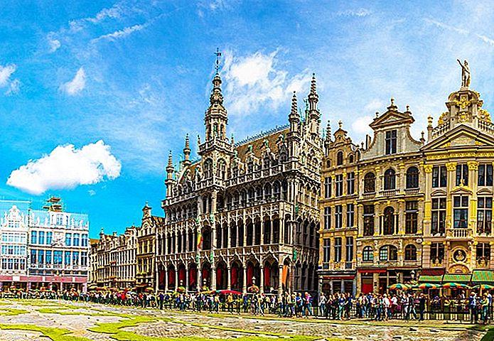 14 самых популярных туристических достопримечательностей в Бельгии