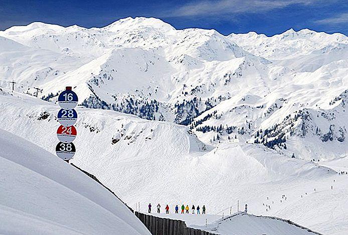 10 лучших горнолыжных курортов Австрии, 2018 год