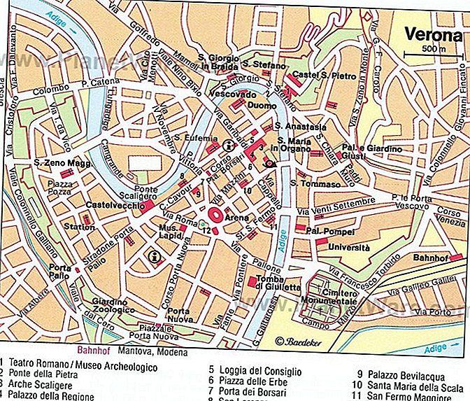 Mapa Mapa Verony