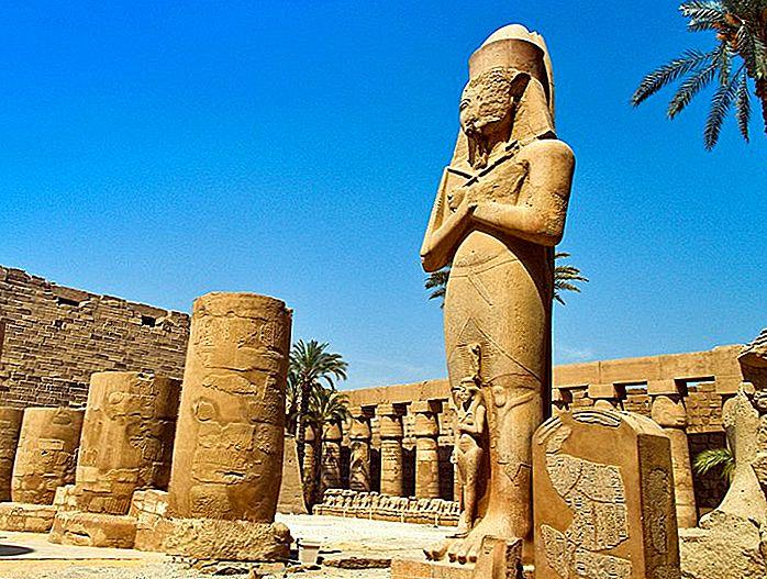 Изучение Великого Храма Карнака Амуна, Луксора