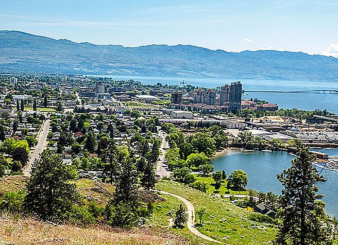 Hvor å bo i Kelowna: Best Areas & Hotels, 2019